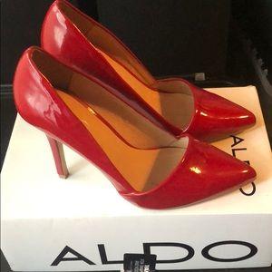 Aldo's red heels